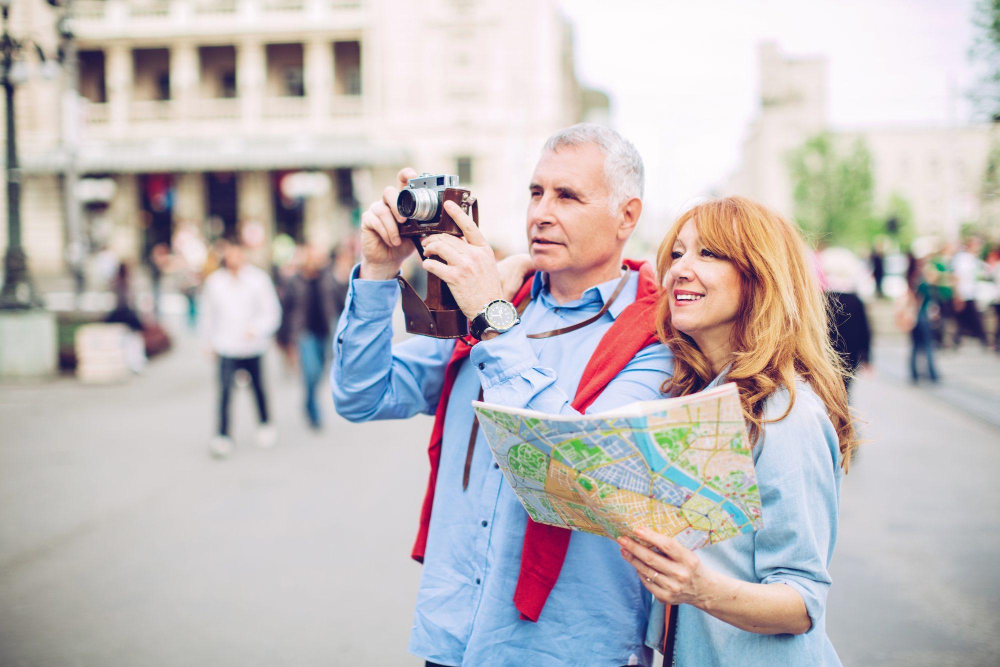 Ehepaar Staedtereisen