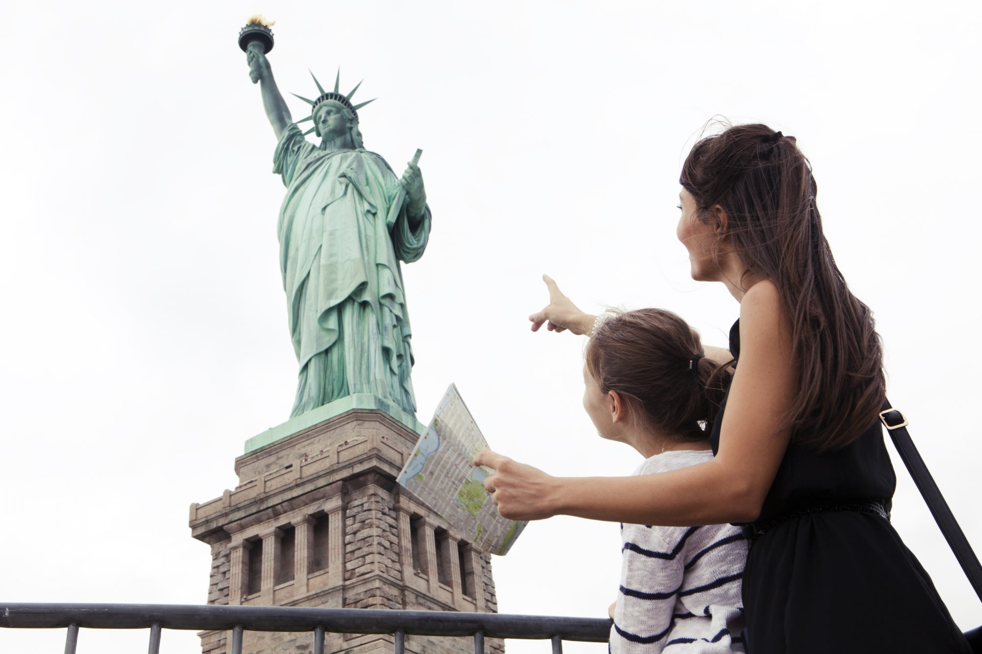 Mutter und Tochter in New York