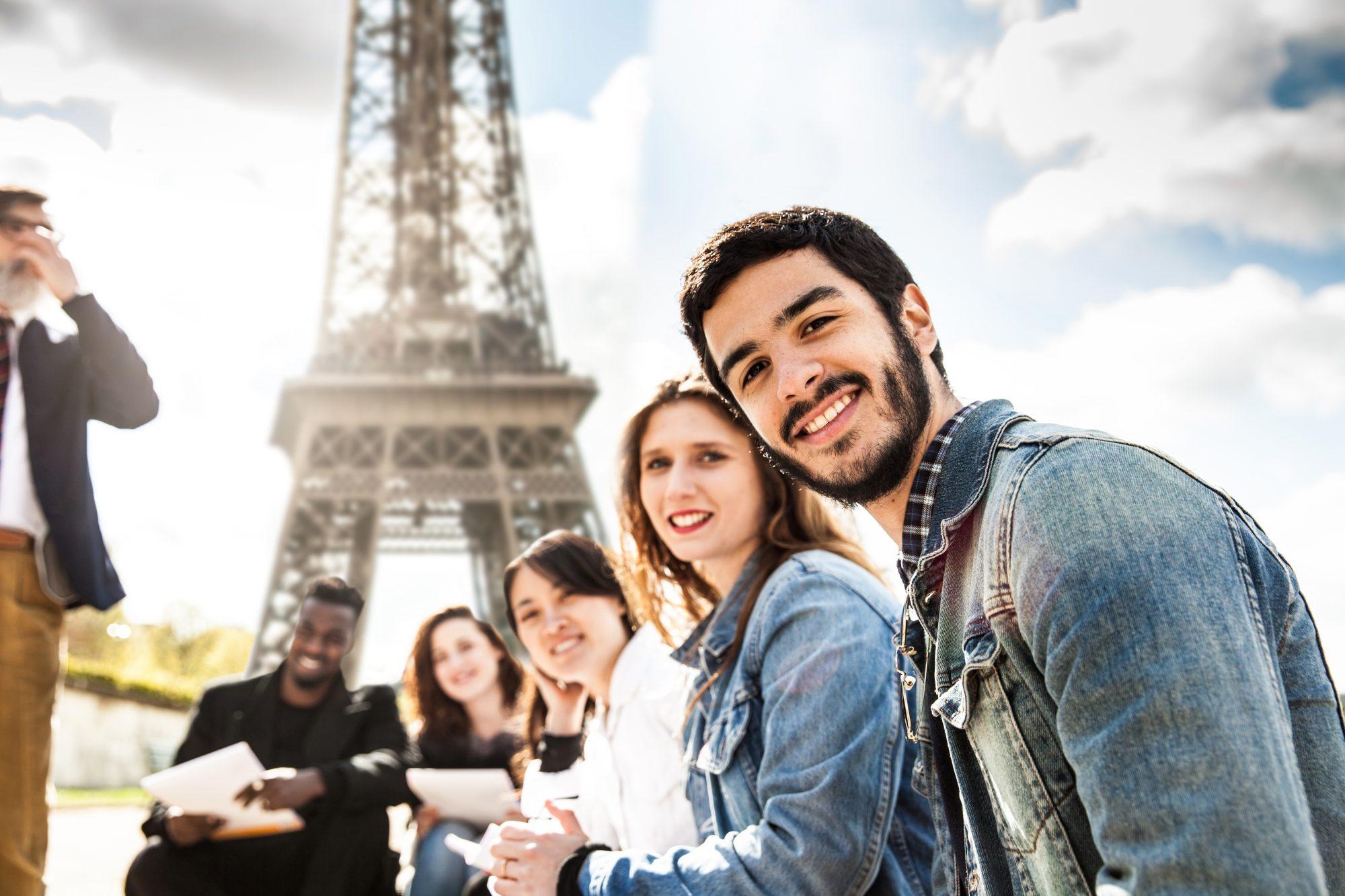 Schueler Eiffelturm
